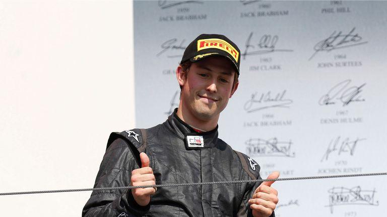 Alexander Sims: Winner at Spa-Francorchamps (GP3 Series Media)