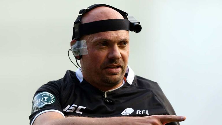 Two video referees will be used in addition to the on-field official