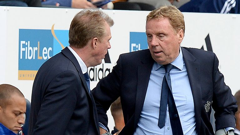 Harry Redknapp: Pleased with defensive display
