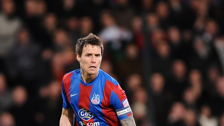 Paddy McCarthy: Palace's club captain could soon be back after enduring a frustrating spell on the sidelines.
