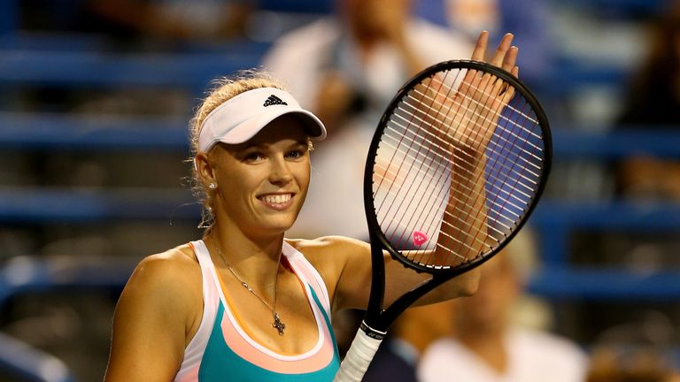 Caroline Wozniacki: most recent of her 20 WTA Tour title came a year ago