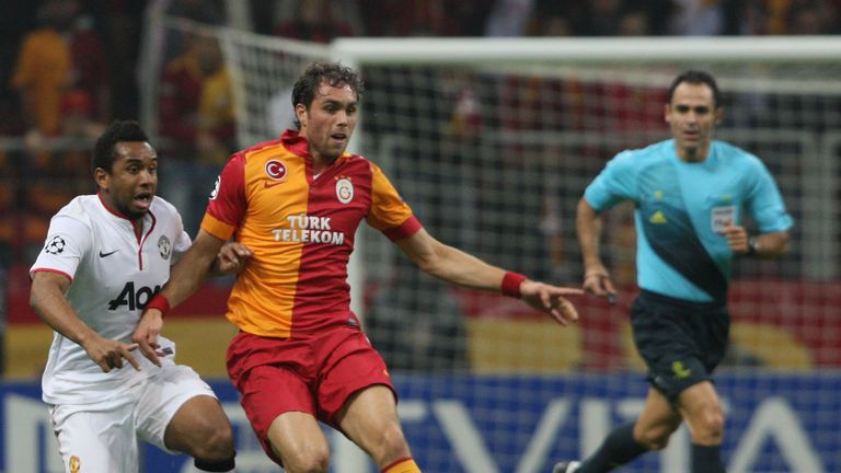 Johan Elmander: Set to leave Galatasaray for Norwich