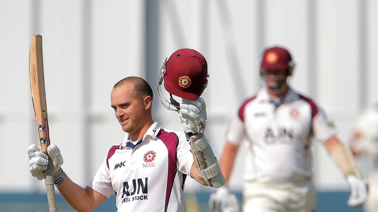 Stephen Peters: Hit a century for his current county against his old employers