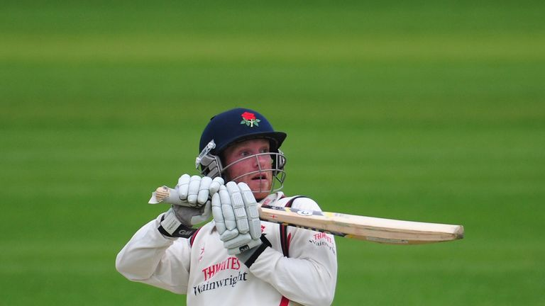Luke Procter: Has now scored five successive Championship fifties for Lancashire