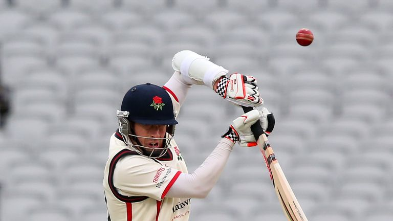 Paul Horton: Scored first hundred of the season against Hampshire