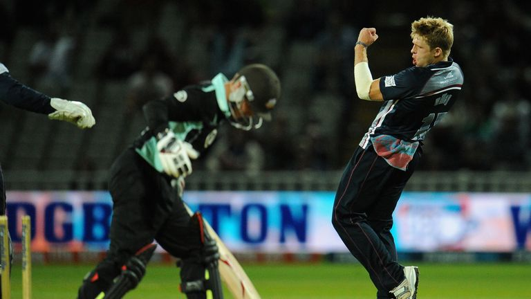 David Willey: Sensational performance as Northants won the Friends Life t20 final.