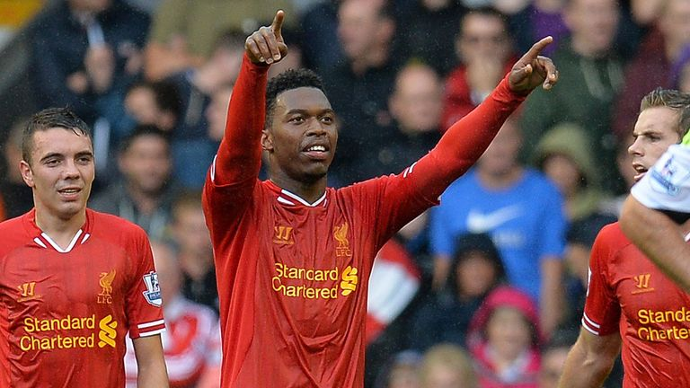 Daniel Sturridge (R) and Iago Aspas have caught Jamie's eye