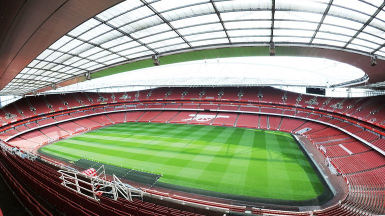 Arsenal's Emirates Stadium: Sponsorship deal was renewed late last year