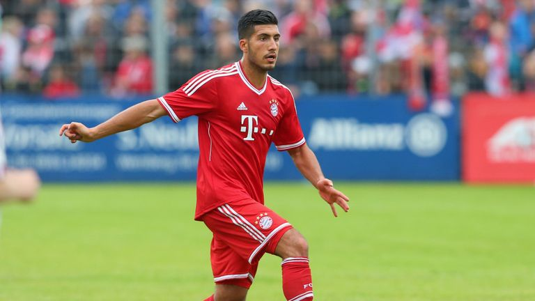 Emre Can: Has made one appearance for Germany's Under-21 side