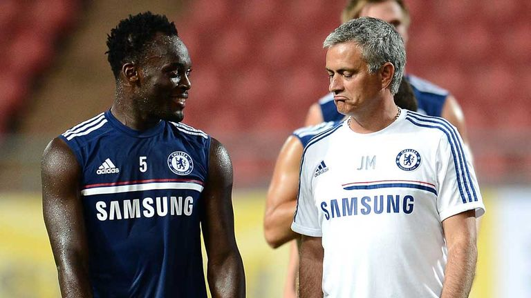 Michael Essien glad to have Jose Mourinho back at Chelsea