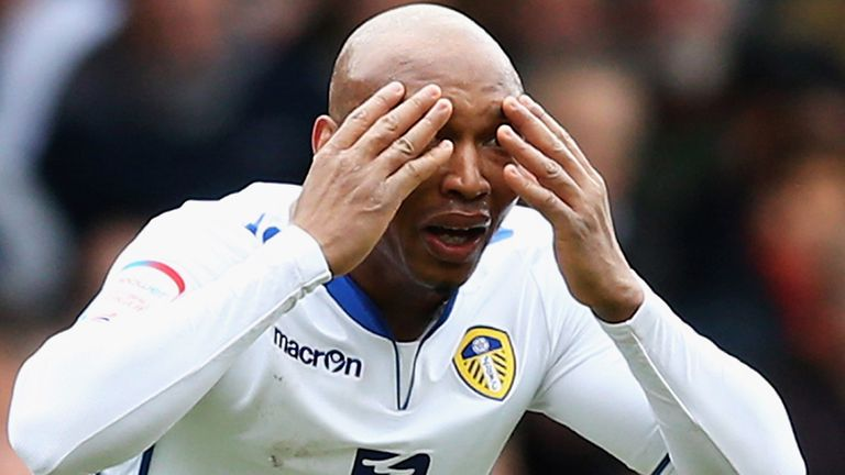 El-Hadji Diouf: Leeds boss Brian McDermott insists striker has a future at Leeds