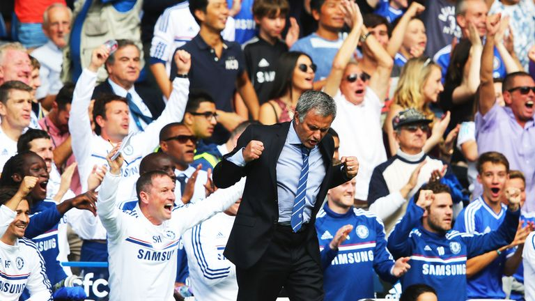 Jose Mourinho: Back at the Bridge