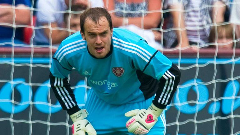 Jamie MacDonald: Hearts keeper would love £200,000 to help save club