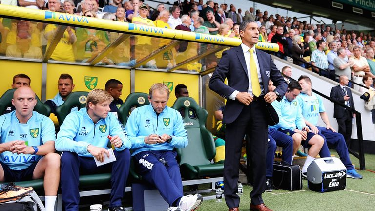 Chris Hughton: Norwich boss pleased with team