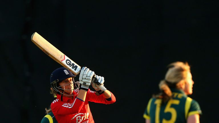 Taylor: Played impressively throughout her crucial knock of 77