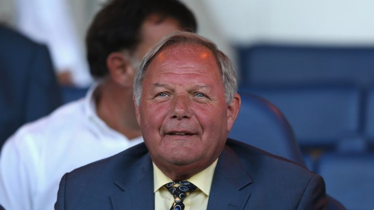 Barry Fry: Dramatic scenes at home