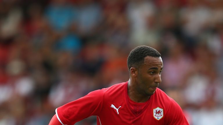 Nicky Maynard: Cardiff striker joins Wigan on loan