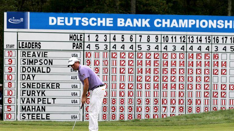 Webb Simpson won the Deutsche Bank Championship in 2011