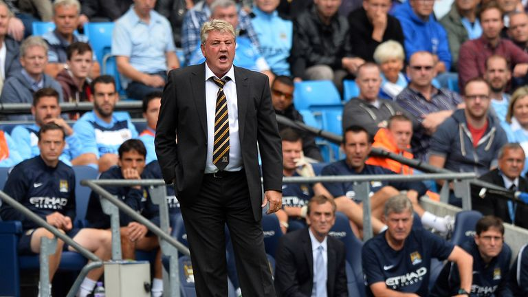 Steve Bruce: Pleased with Hull's performance at Manchester City