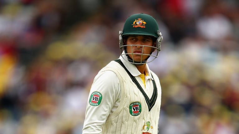 Usman Khawaja: part of Australia's under-performing batting line-up