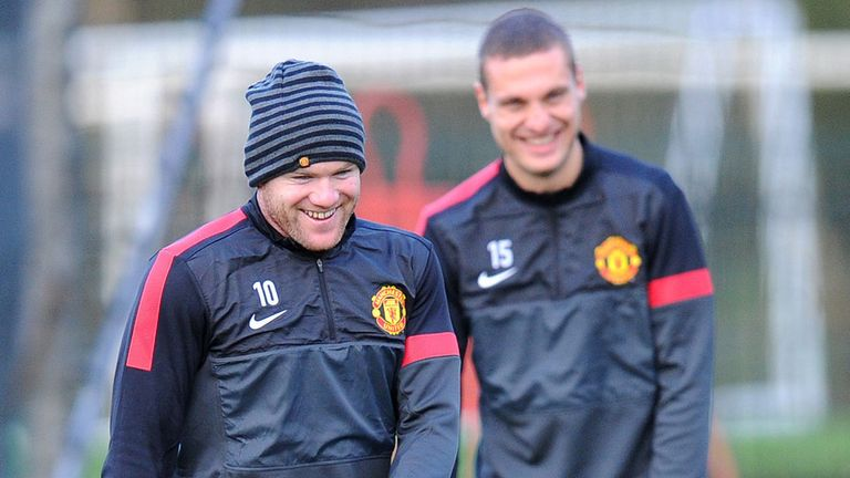 Wayne Rooney: Could take on the Manchester United captaincy from Nemanja Vidic