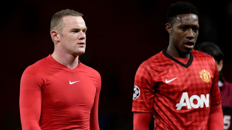 Rooney and Welbeck: Team-mates - and rivals
