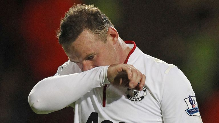Wayne Rooney: Did not play in Sweden