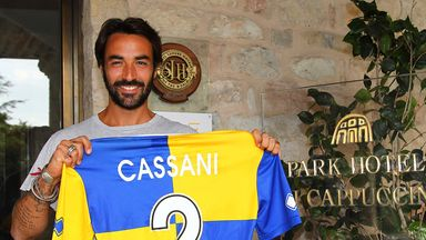 Mattia Cassani: Moves to Parma on loan