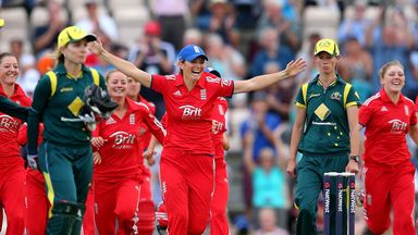 Charlotte Edwards led England to Ashes success