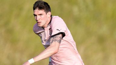 Kyle Lafferty: Happy in Palermo