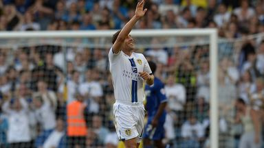Michael Brown: Waves goodbye to Leeds