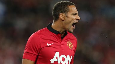 Rio Ferdinand: Manchester United defender looking forward to Chelsea clash