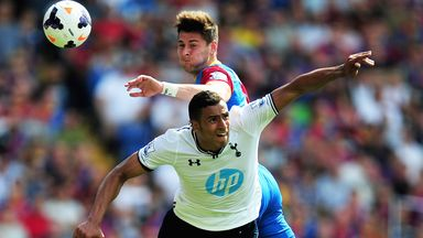 Joel Ward: Helped Crystal Palace to contain Tottenham for long periods