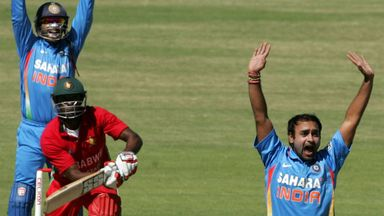 Amit Mishra: Took six wickets as India cruised to victory