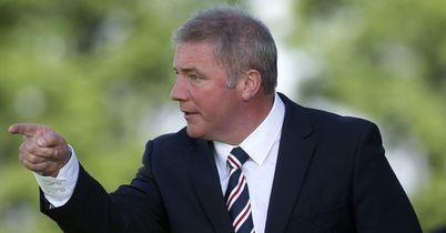 Ally McCoist: Delighted with his Rangers side