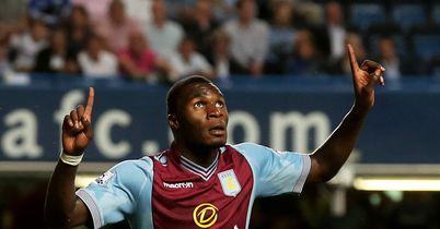 Christian Benteke: Has continued his goalscoring form so far for Villa