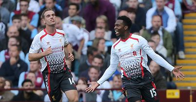 Daniel Sturridge: Scored again for Liverpool at Villa