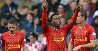 Daniel Sturridge: Praised by Brendan Rodgers after Liverpool's win against Stoke