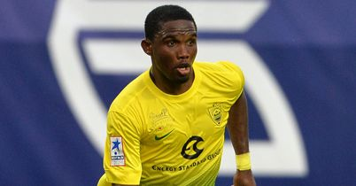 Samuel Eto'o: Close to a move to Stamford Bridge