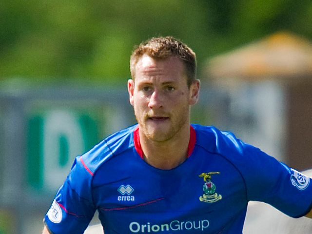 Gary Warren: Ruled out for Inverness