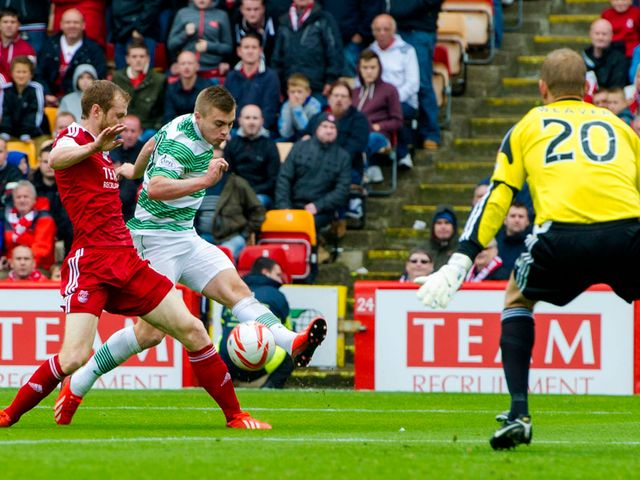 James Forrest wraps up the victory for Celtic