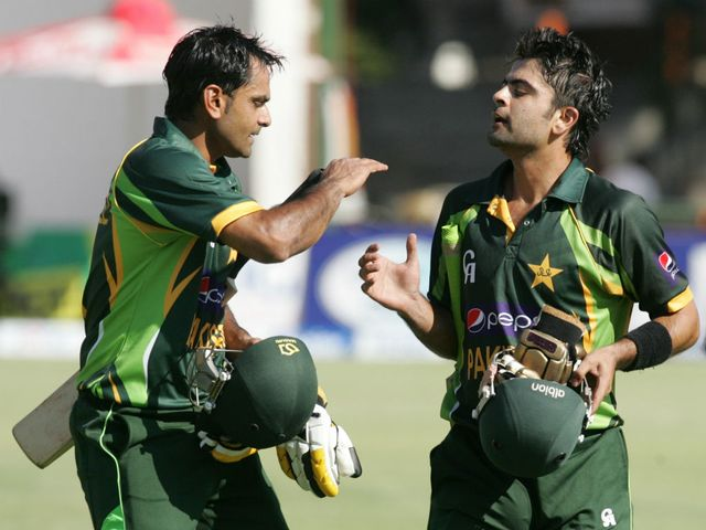 Hafeez and Shehzad left Zimbabwe too much to do