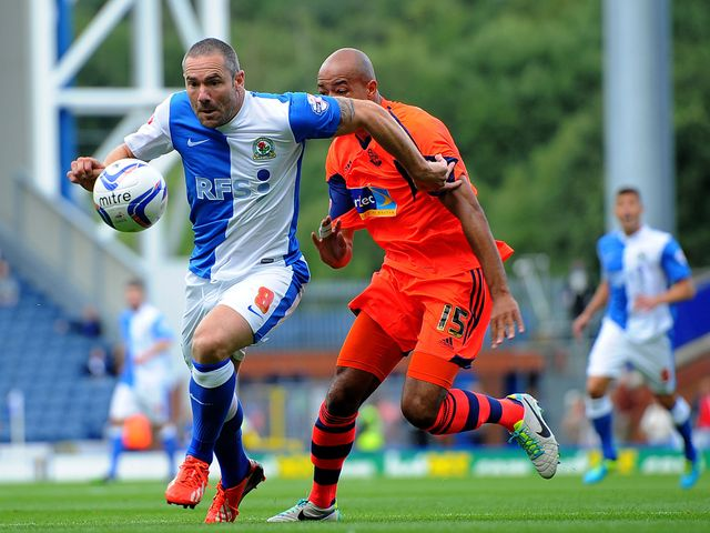David Dunn runs away from Alex Baptiste.