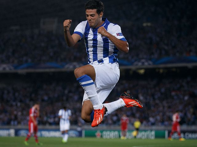 Carlos Vela: Real Sociedad striker