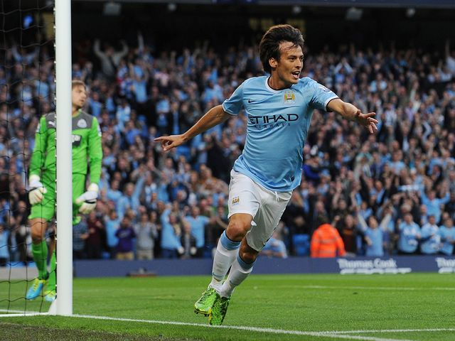 Silva got the ball rolling for City