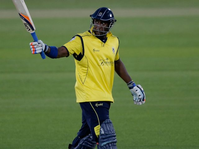 Michael Carberry: Starred for Hampshire