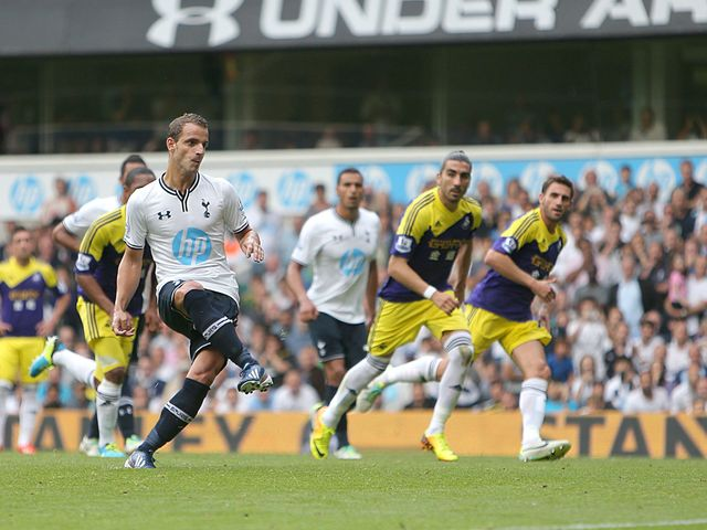 Roberto Soldado scored the only goal from the penalty spot