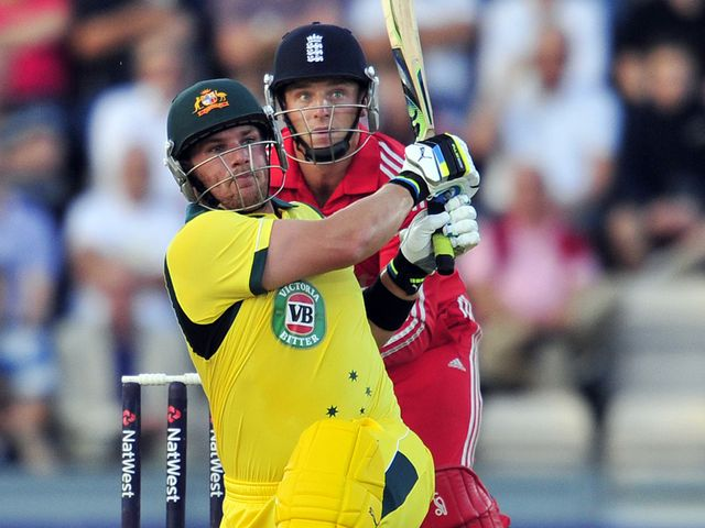 Aaron Finch: Hammered England all round the Ageas Bowl