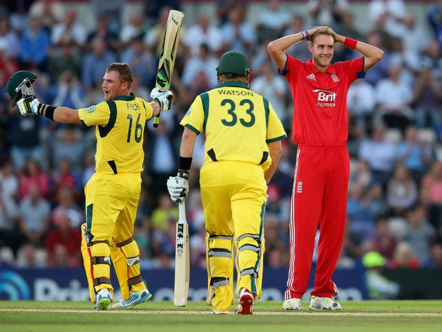 Broad: Hailed Finch's astonishing innings