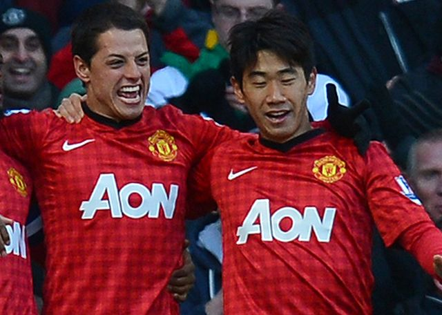 Javier Hernandez and Shinji Kagawa: Could be making Old Trafford exits